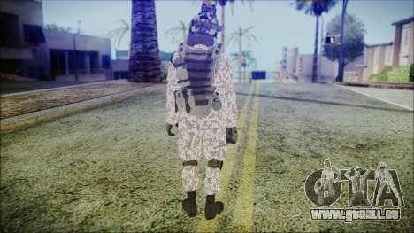 Bundeswehr Desert v3 pour GTA San Andreas troisième écran