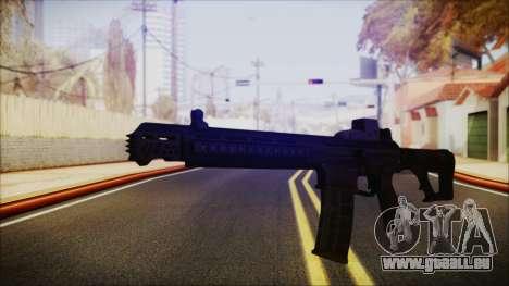 SOWSAR-17 Type G Assault Rifle für GTA San Andreas zweiten Screenshot