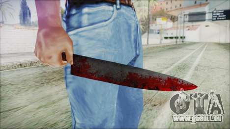 Helloween Butcher Knife für GTA San Andreas