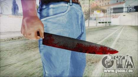 Helloween Butcher Knife für GTA San Andreas