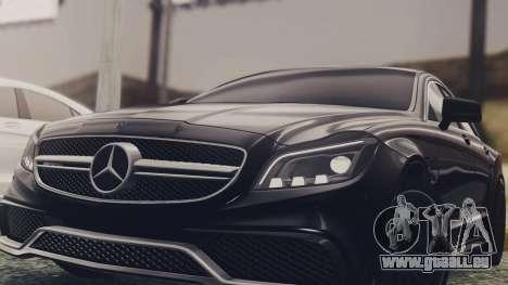 Mercedes-Benz CLS 63 AMG W218 für GTA San Andreas rechten Ansicht