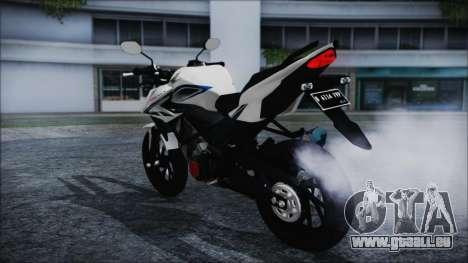 Honda CB150R White pour GTA San Andreas laissé vue