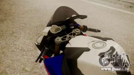 BMW S1000RR Limited pour GTA San Andreas vue arrière