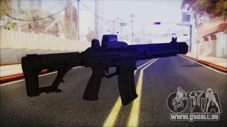 SOWSAR-17 Type G Assault Rifle für GTA San Andreas dritten Screenshot