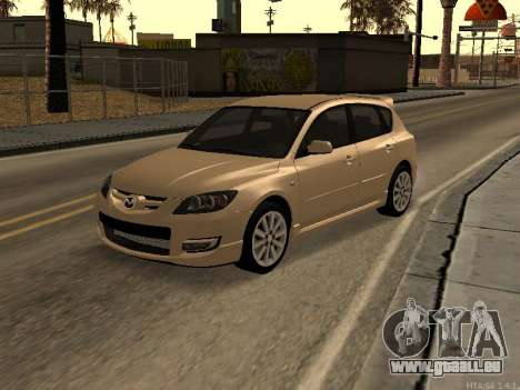 Mazda 3 MPS Tunable für GTA San Andreas
