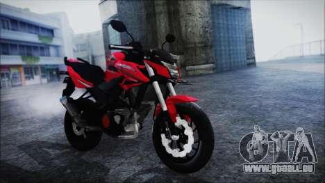 Honda CB150R Red pour GTA San Andreas