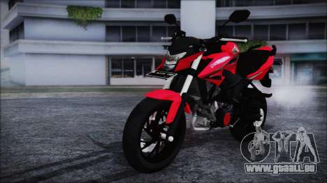 Honda CB150R Red pour GTA San Andreas vue de droite