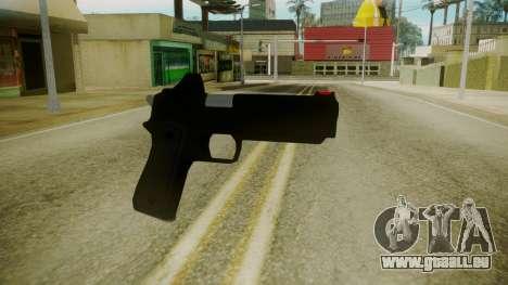 GTA 5 Desert Eagle pour GTA San Andreas deuxième écran