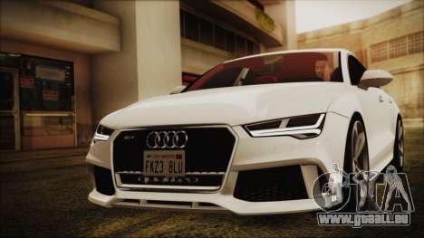 Audi RS7 Sportback 2015 für GTA San Andreas