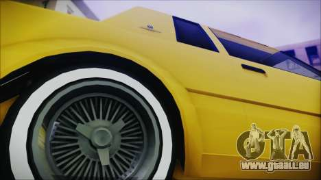 GTA 5 Willard Faction Custom Bobble Version IVF pour GTA San Andreas sur la vue arrière gauche