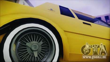 GTA 5 Willard Faction Custom Bobble Version IVF für GTA San Andreas zurück linke Ansicht