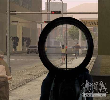 Sniper Scope v2 für GTA San Andreas