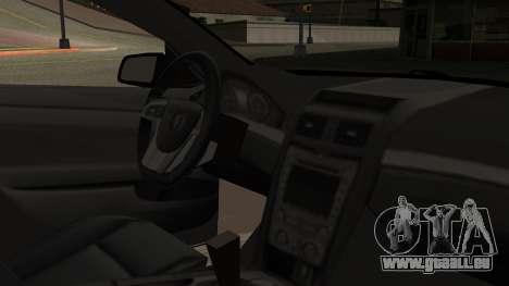 Chevrolet Lumina SS 2011 K.N Edition für GTA San Andreas rechten Ansicht