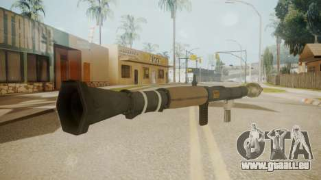GTA 5 Rocket Launcher für GTA San Andreas zweiten Screenshot