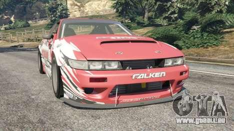 Nissan Silvia S13 v1.2 [with livery] pour GTA 5