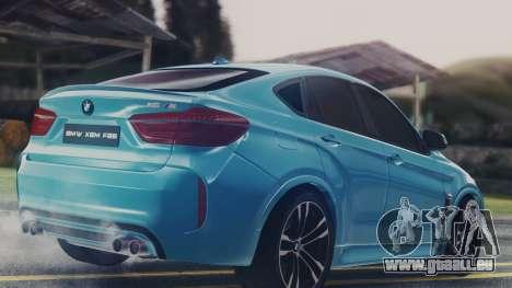 BMW X6M F86 v2.0 pour GTA San Andreas vue de droite