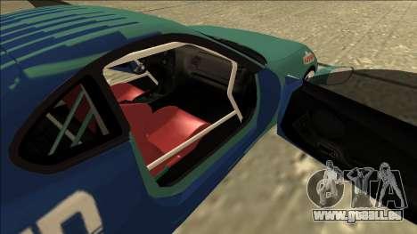 Toyota Supra Falken Drift für GTA San Andreas Rückansicht