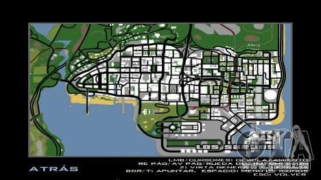HD Carte Radar pour GTA San Andreas