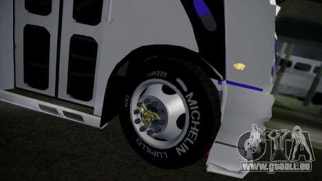 Mercedes-Benz Ayco Zafiro Influyente pour GTA San Andreas vue arrière