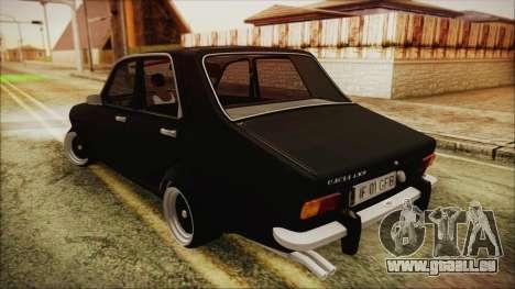 Dacia 1301LS GFB pour GTA San Andreas laissé vue
