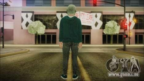 DLC Halloween GTA 5 ZombieCraneo pour GTA San Andreas troisième écran