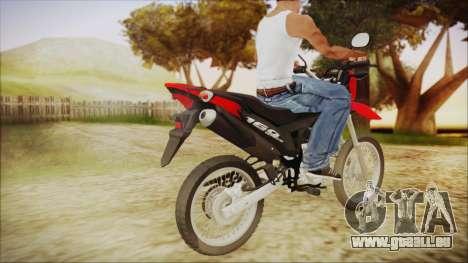Honda Bros 160 2015 pour GTA San Andreas laissé vue