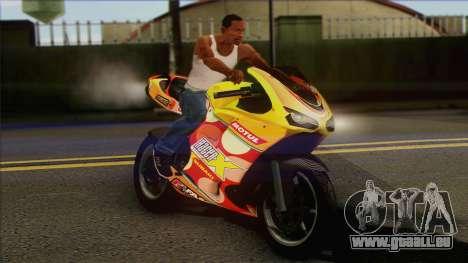 GTA 5 Bati HD pour GTA San Andreas vue de droite