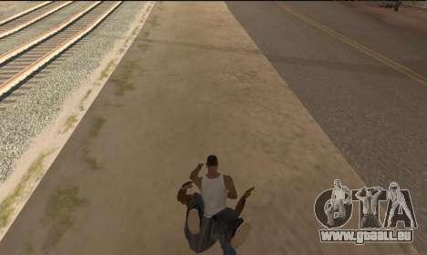 Pour transporter le cadavre pour GTA San Andreas deuxième écran