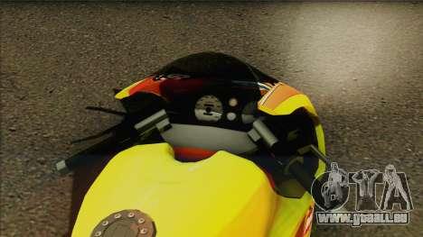 GTA 5 Bati HD pour GTA San Andreas sur la vue arrière gauche