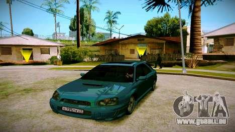 Subaru Impreza WRX STI Wagon für GTA San Andreas