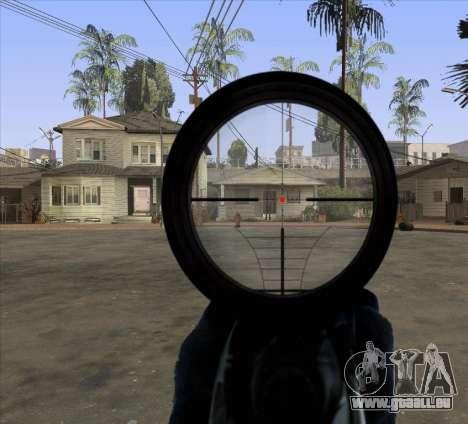 Sniper Scope v2 für GTA San Andreas dritten Screenshot