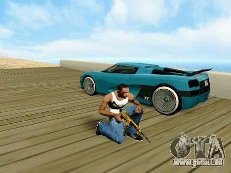 Anti-Lag Enb (Faible PC) pour GTA San Andreas troisième écran