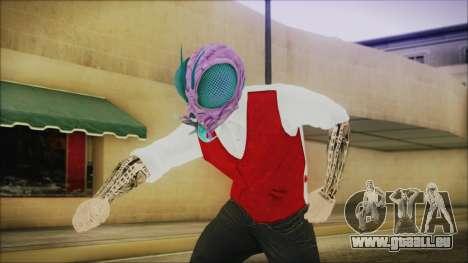 DLC Halloween GTA 5 Skin 2 pour GTA San Andreas