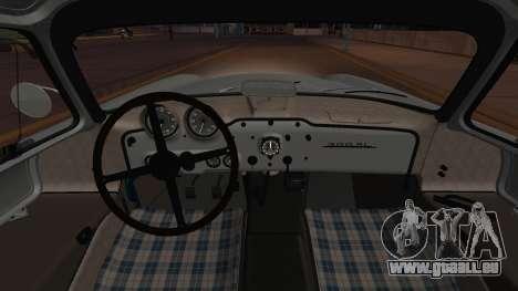 Mercedes-Benz 300 SL (W194) 1952 IVF АПП für GTA San Andreas Innenansicht
