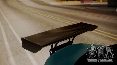 BMW 1M E82 with Sunroof pour GTA San Andreas vue arrière