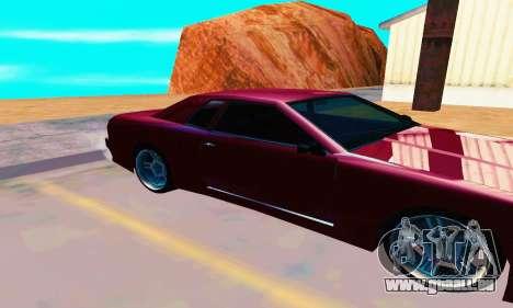 Elegy From Life pour GTA San Andreas sur la vue arrière gauche