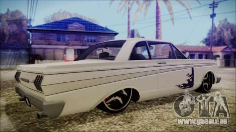 Blade Custom pour GTA San Andreas laissé vue