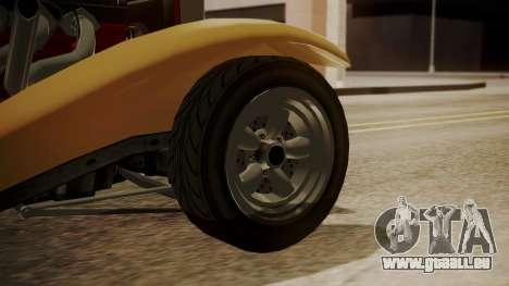 GTA 5 Albany Franken Stange pour GTA San Andreas sur la vue arrière gauche