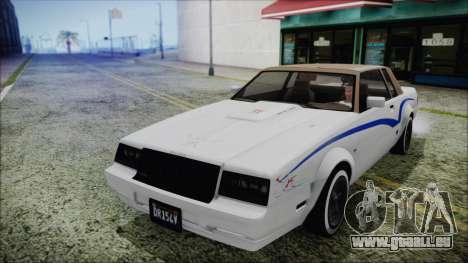 GTA 5 Willard Faction Custom Bobble Version IVF für GTA San Andreas obere Ansicht