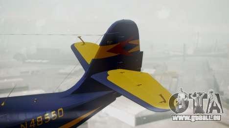 Grumman G-21 Goose N48550 pour GTA San Andreas sur la vue arrière gauche