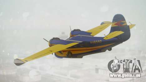 Grumman G-21 Goose N48550 pour GTA San Andreas laissé vue