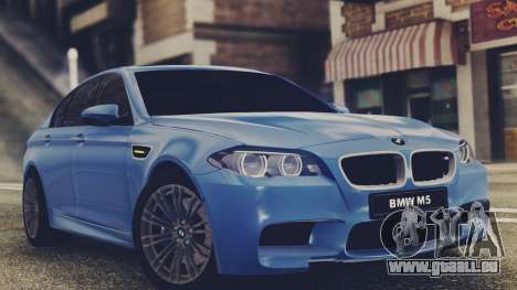 BMW M5 F10 Stock MTA Version für GTA San Andreas