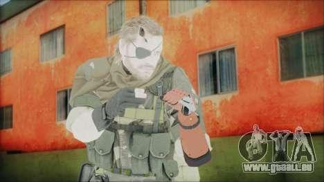 MGSV Phantom Pain Snake Scarf Splitter pour GTA San Andreas