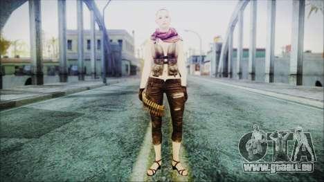 Mila Short Hair from Counter Strike v2 pour GTA San Andreas deuxième écran