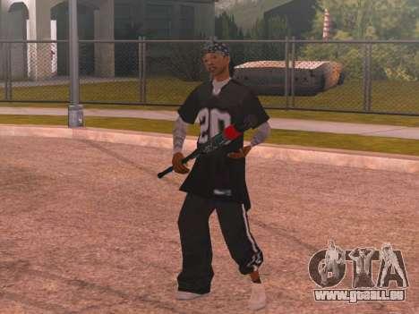 Welaso Boulevard Familis [Davis Pack] pour GTA San Andreas deuxième écran