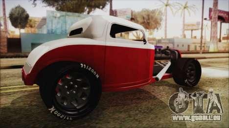 Ford 32 pour GTA San Andreas laissé vue