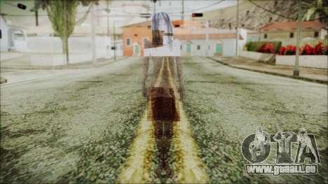 Ghost of Kayako Saeki pour GTA San Andreas deuxième écran