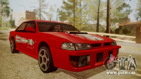 Sultan FnF Skins pour GTA San Andreas