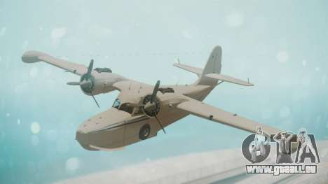 Grumman G-21 Goose WhiteBlueLines pour GTA San Andreas
