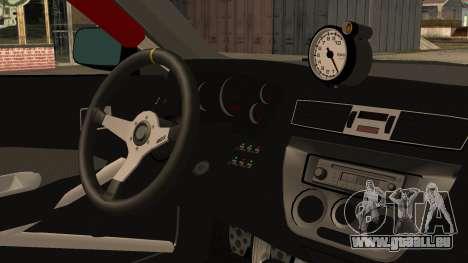 Mitsubishi Lancer Evolution Pushkar für GTA San Andreas rechten Ansicht